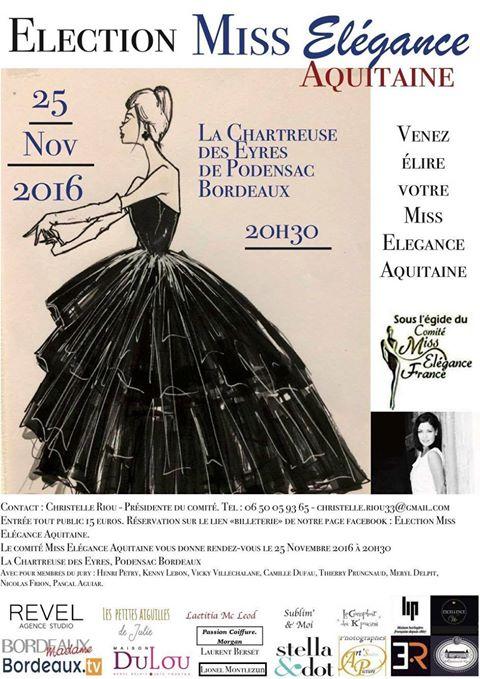 Miss Elegance Aquitaine