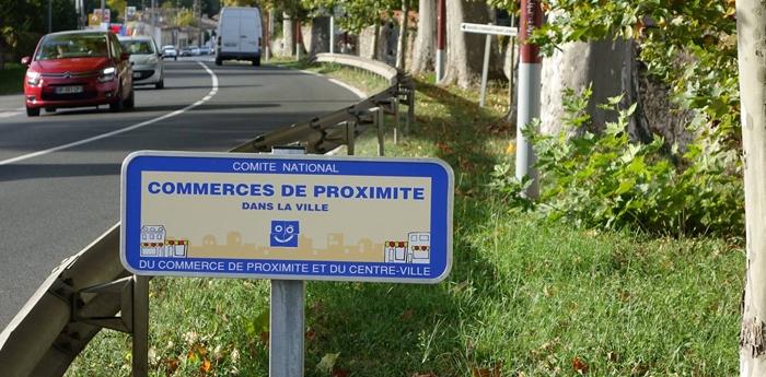Podensac labellisée «Commerces de proximité dans la ville»